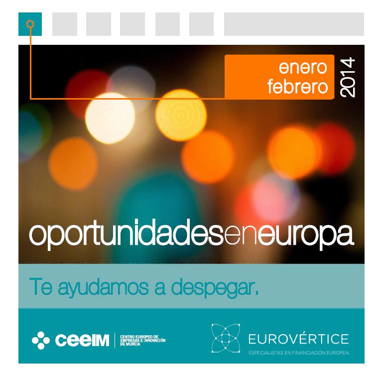 """Ya está disponible el 6º boletín """"Oportunidades en Europa"""""""