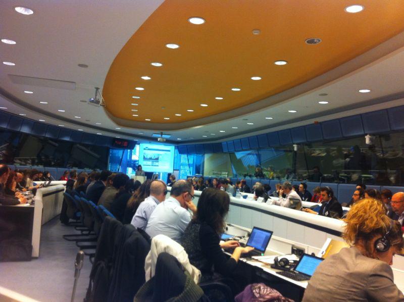 Presentación del Tourism Business Portal en Bruselas
