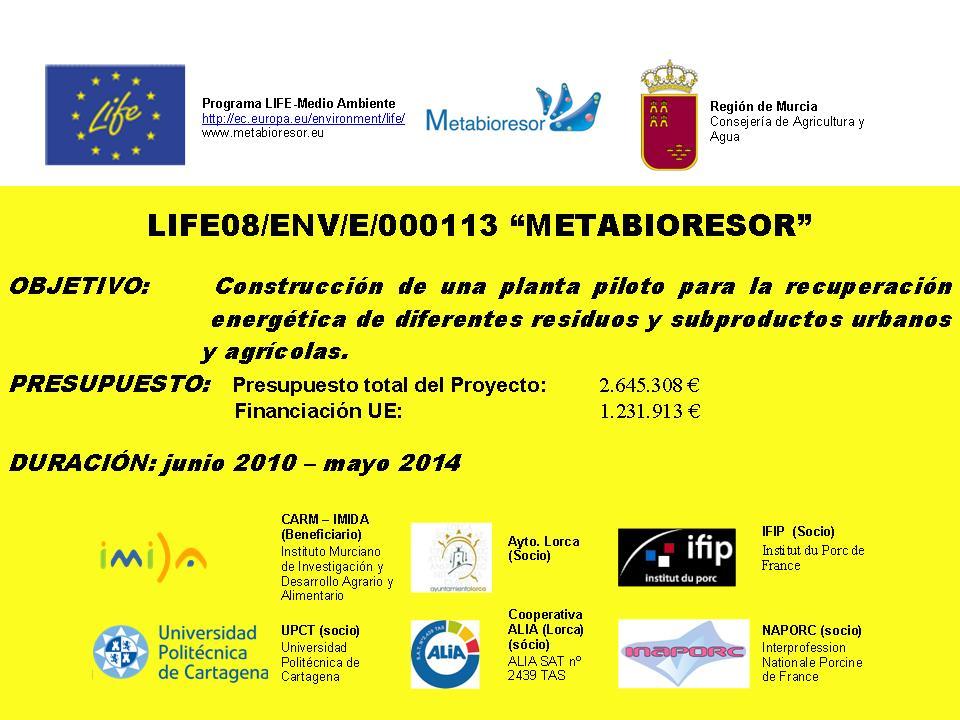 Metabioresor invitado de excepción para la plataforma europea de residuos en Bruselas