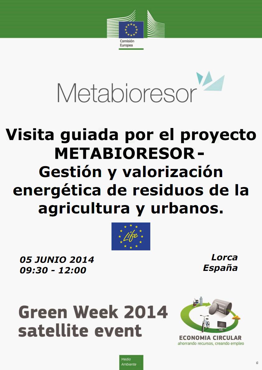 La Semana Verde Europea en Murcia: Metabioresor muestra su planta de biomasa