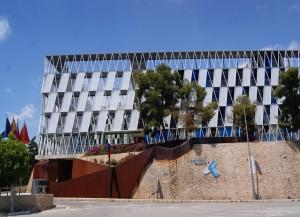 Vista exterior del Parque Científico, donde se encuentra alojada la empresa Eurovértice